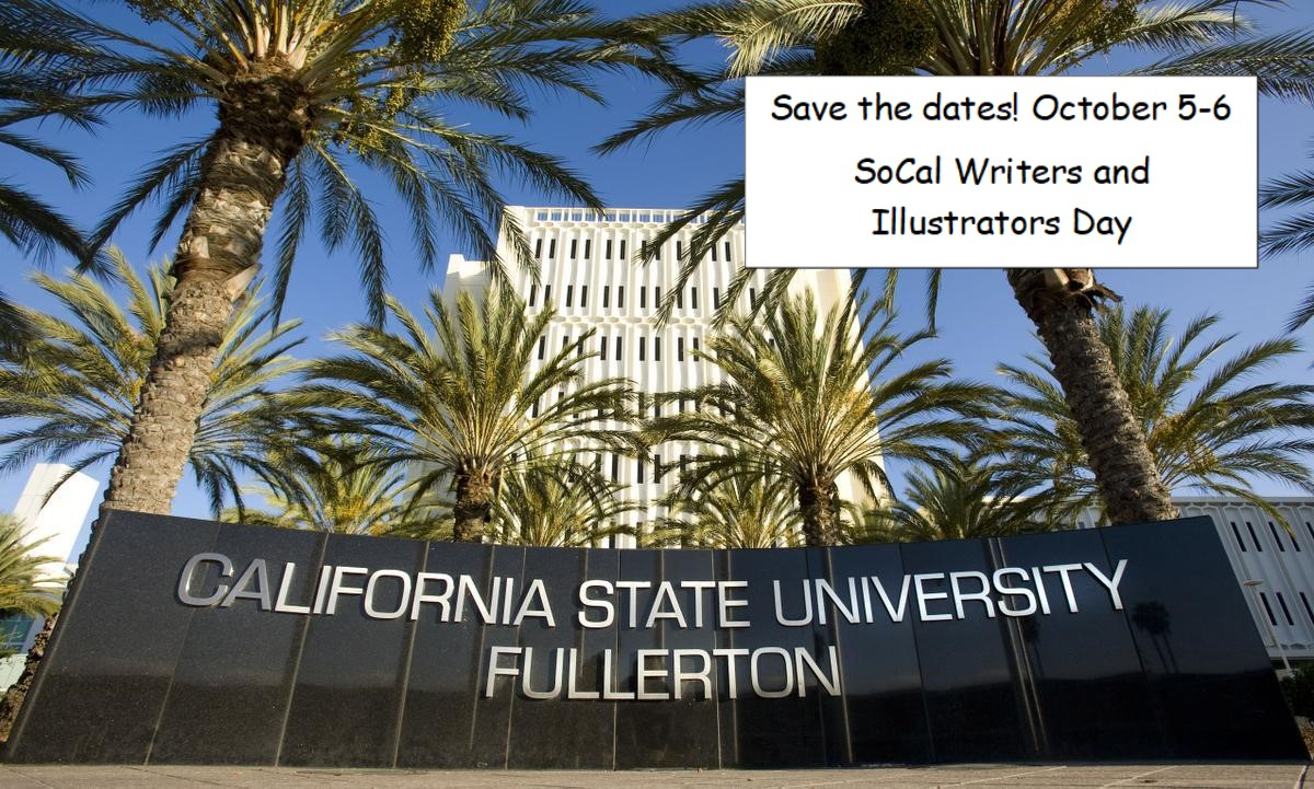 Save the dates! October 5-6, 2018, SoCal SCBWI will be hosting Writers and Illustrators Day at Cal State Fullerton. You will be able to learn more about the craft of writing and/or illustrating, and learn the latest in the publishing industry from Editors, Agents and published authors. More information will be posted soon.